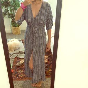 Dress / coverup faux wrap